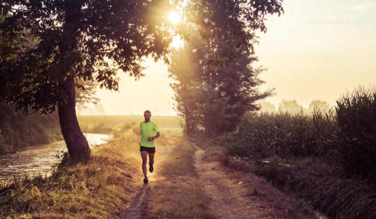 Nüchternlauf am Morgen